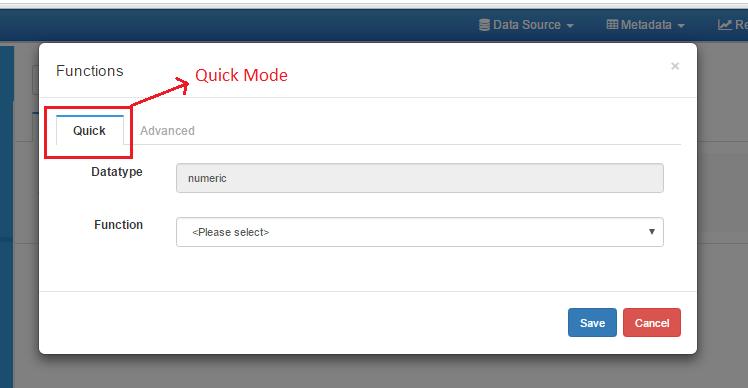 quick mode