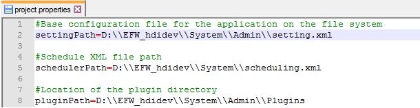 settings.xml files