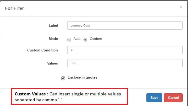 Equals Custom Mode