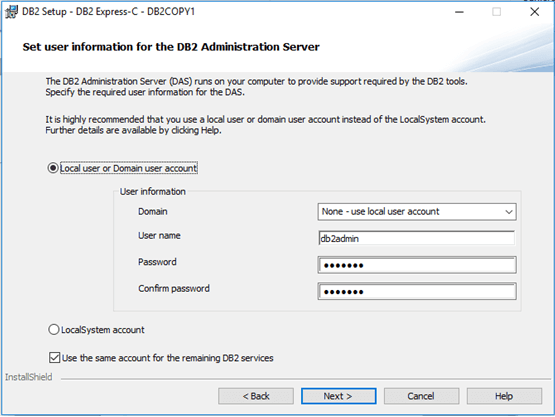 db2-user-account-creation
