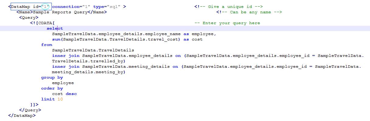 DataMap id 1