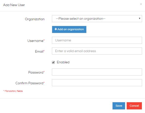 Adding User