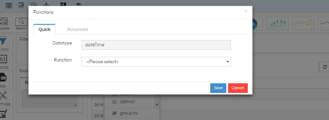 Database Function Usage