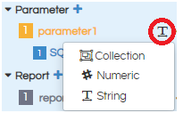 input parameter