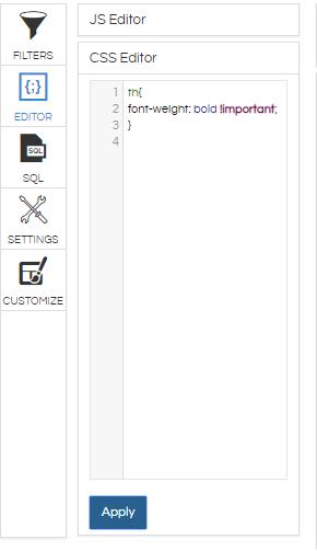 CSS Editor